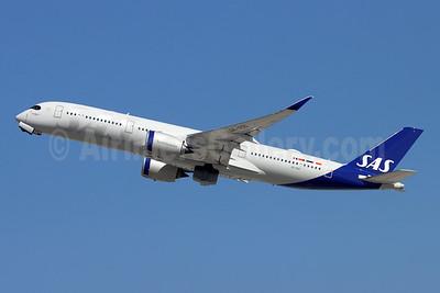Scandinavian Airlines-SAS Airbus A350-941 SE-RSD (msn 418) LAX (Michael B. Ing). Image: 955425.