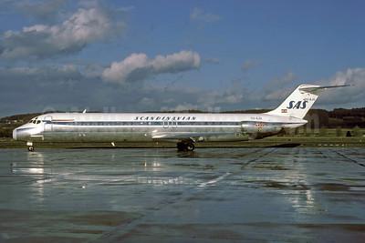 Scandinavian Airlines-SAS (Inex-Adria Airways) McDonnell Douglas DC-9-51 YU-AJU (msn 47754) ZRH (Rolf Wallner). Image: 913285.