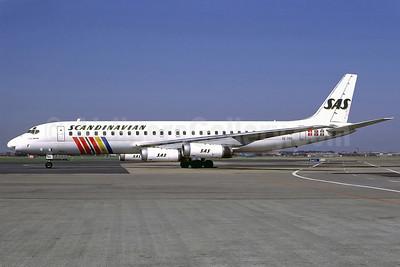 Scandinavian Airlines-SAS McDonnell Douglas DC-8-62 SE-DBG (msn 45921) CPH (Perry Hoppe). Image: 910975.