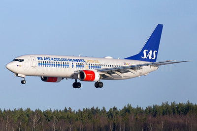 Scandinavian Airlines-SAS Boeing 737-883 LN-RPM (msn 30195) (We are 4,000,000 members. Join Us.) ARN (Stefan Sjogren). Image: 936632.
