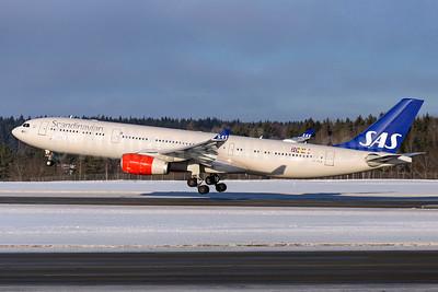 Scandinavian Airlines-SAS Airbus A330-343 LN-RKR (msn 1660) ARN (Stefan Sjogren). Image: 935370.