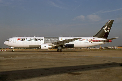 SAS' 1998 Star Alliance livery (original members)