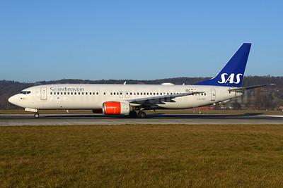 Scandinavian Airlines-SAS Boeing 737-883 WL LN-RRT (msn 28326) ZRH (Rolf Wallner). Image: 936360.