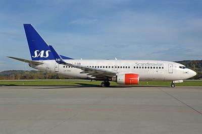Scandinavian Airlines-SAS Boeing 737-783 WL LN-RNW (msn 34549) ZRH (Rolf Wallner). Image: 939692.