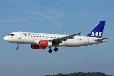 Scandinavian Airlines-SAS Airbus A320-232 OY-KAO (msn 2990) ZRH (Andi Hiltl). Image: 912522.