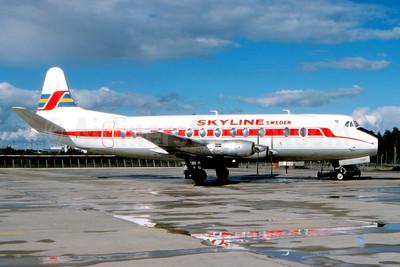 Skyline (Sweden) Vickers Viscount 814 SE-FOY (msn 338) ARN (Fernandez Imaging Collection). Image: 932837.