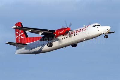 Skyways Express (Sweden) Fokker F.27 Mk. 050 (Fokker 50) SE-LEU (msn 20115) ARN (Stefan Sjogren). Image: 908324.