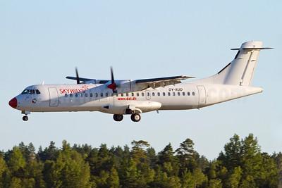 Skyways Express (Sweden) - DAT ATR 72-201 OY-RUD (msn 162) ARN (Stefan Sjogren). Image: 905399.