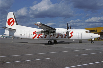 Skyways Express (Sweden) Fokker F.27 Mk. 050 SE-LEB (msn 20120) ARN (Christian Volpati Collection). Image: 925245.