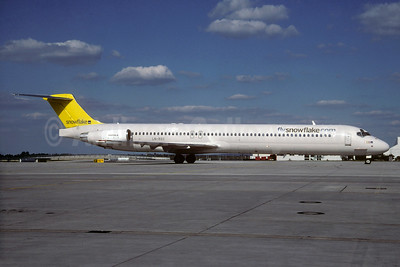 Snowflake (SAS) McDonnell Douglas DC-9-82 (MD-82) LN-ROS (msn 49421) MUC (Christian Volpati Collection). Image: 932765.