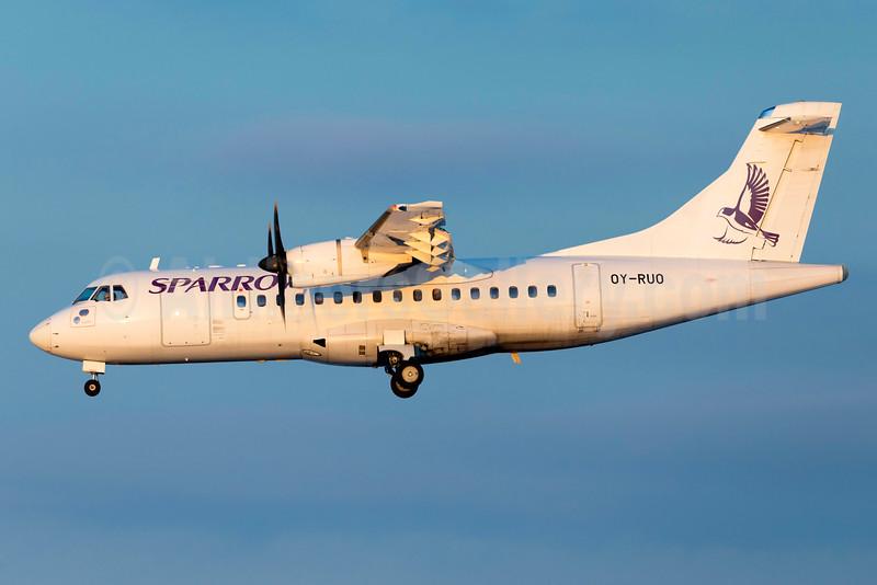 Sparrow Aviation (Danish Air Transport) ATR 42-500 OY-RUO (msn 514) ARN (Stefan Sjogren). Image: 932458.