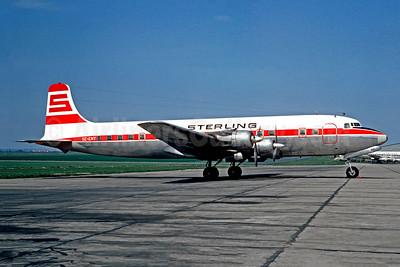 Sterling Airways (Sweden) Douglas DC-6B SE-ENY (msn 45197) LBG (Christian Volpati). Image: 948619.