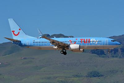 TUIfly Nordic Boeing 737-8K5 SSWL SE-RFX (msn 37246) LPA (Paul Bannwarth). Image: 934513.