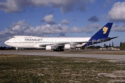 TransJet Airways (Sweden) Boeing 747-238B SE-RBP (msn 20009) OPF (Bryant Petitt - Bruce Drum Collection). Image: 944423.