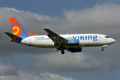 Viking Airlines Boeing 737-36N SE-RHU (msn 28560) LGW (Antony J. Best). Image: 903483.