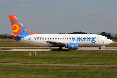 Viking Airlines Boeing 737-36N SE-RHU (msn 28560) MAN (Rob Skinkis). Image: 904373.