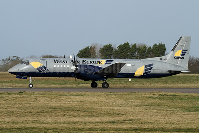 West Air Europe Cargo (West Atlantic Group) BAe ATP SE-MAI (msn 2010) GCI (Nick Dean). Image: 948760.