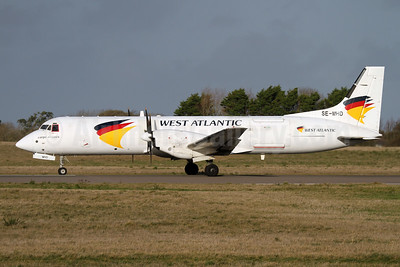 West Atlantic Cargo Airlines (West Air Sweden) Bae ATP SE-MHD (msn 2008) GCI (Nick Dean). Image: 945133.