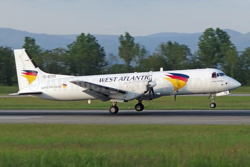 West Atlantic Cargo Airlines (Atlantic Airlines) ATP G-BTPE (msn 2012) BSL (Paul Bannwarth). Image: 926572.