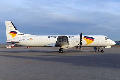 West Atlantic Cargo Airlines (West Air Sweden) Bae ATP SE-MHK (msn 2033) OSL (Ton Jochems). Image: 942807.
