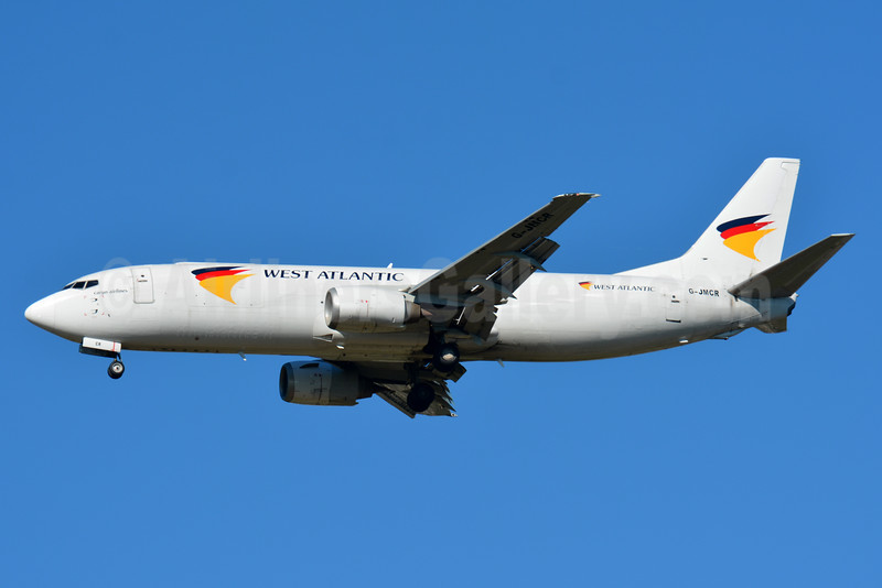 West Atlantic Cargo Airlines (Atlantic Airlines) Boeing 737-4Q8 (F) G-JMCR (msn 25372) BSL (Paul Bannwarth). Image: 934038.
