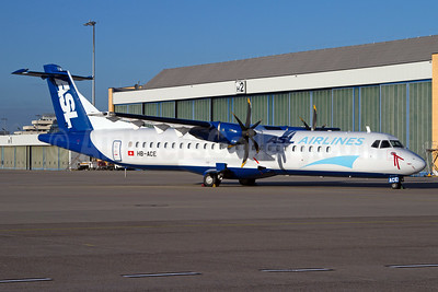 ASL Airlines (Switzerland) ATR 72-212 (F) HB-ACE (msn 577) CGN (Rainer Bexten). Image: 932451.