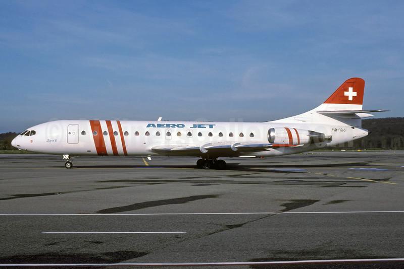Aero Jet Sud Aviation SE.210 Caravelle 10B3 HB-ICJ (msn 169) ZRH (Rolf Wallner). Image: 921790.