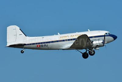 Aero Passion Douglas DC-3-277B HB-IRJ (msn 2204) BSL (Paul Bannwarth). Image: 950610.