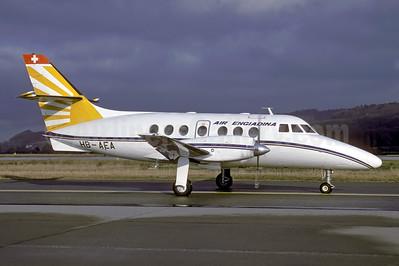 Air Engiadina BAe Jetstream 31 HB-AEA (msn 612) ZRH (Rolf Wallner). Image: 954023.