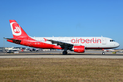 Airberlin (airberlin.com) (Belair Airlines) Airbus A320-214 HB-IOQ (msn 3422) PMI (Ton Jochems). Image: 920106.