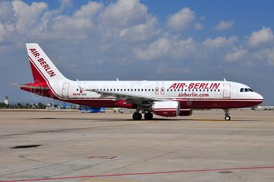 Air-Berlin (airberlin.com) (Belair Airlines) Airbus A320-214 HB-IOV (msn 3021) AYT (Ton Jochems). Image: 953741.