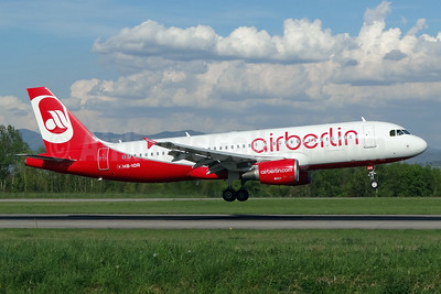 Airberlin (airberlin.com) (Belair Airlines) Airbus A320-214 HB-IOR (msn 4033) BSL (Paul Bannwarth). Image: 924085.