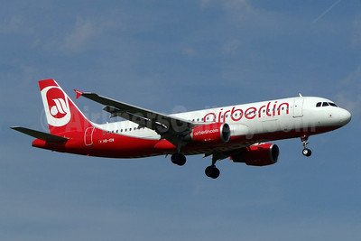 Airberlin (airberlin.com) (Belair Airlines) Airbus A320-214 HB-IOW (msn 3055) ZRH (Paul Bannwarth). Image: 920108.