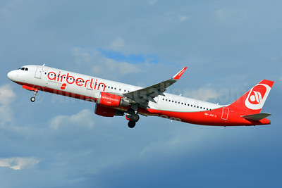 Leased from Airberlin on May 12, 2017, Belair logo