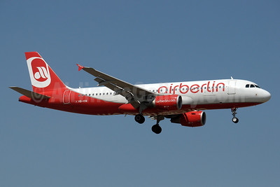 Airberlin (airberlin.com) (Belair Airlines) Airbus A320-214 HB-IOW (msn 3055) AYT (Paul Denton). Image: 911967.
