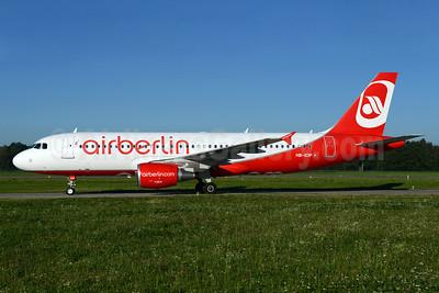 Airberlin (airberlin.com) (Belair Airlines) Airbus A320-214 HB-IOP (msn 4187) ZRH (Rolf Wallner). Image: 934282.
