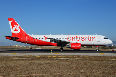 Airberlin (airberlin.com) (Belair Airlines) Airbus A320-214 HB-IOS (msn 2968) PMI (Ton Jochems). Image: 920107.