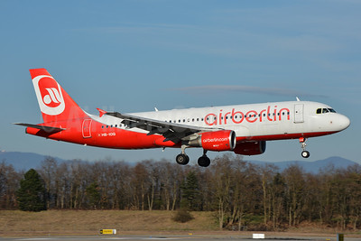 Airberlin (airberlin.com) (Belair Airlines) Airbus A320-214 HB-IOQ (msn 3422) BSL (Paul Bannwarth). Image: 937195.