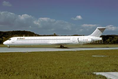 Avione (Nordic Airlink) McDonnell Douglas DC-9-82 (MD-82) HB-INR (msn 49277) ZRH (Rolf Wallner). Image: 947131.