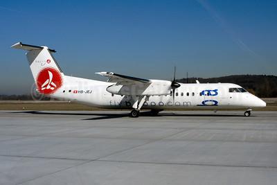 Baboo Airways (Flybaboo.com) de Havilland Canada DHC-8-315 Dash 8 (Q300) HB-JEJ (msn 546) ZRH (Rolf Wallner). Image: 955106.
