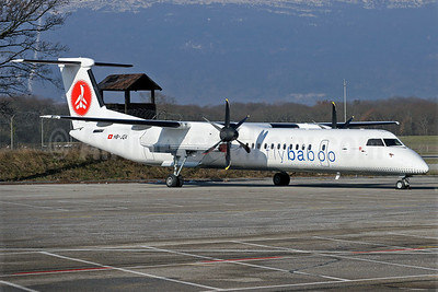 Baboo Airways (Flybaboo.com) Bombardier DHC-8-402 (Q400) HB-JQA (msn 4017) GVA (Eurospot). Image: 909876.