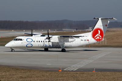Baboo Airways (Flybaboo.com) de Havilland Canada DHC-8-315 Dash 8 (Q300) HB-JEK (msn 549) GVA (Ton Jochems). Image: 955108.