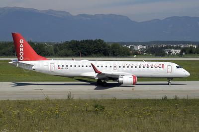 Baboo Airways (Flybaboo.com) Embraer ERJ 190-100LR HB-JQF (msn 19000178) GVA (Paul Denton). Image: 909874.