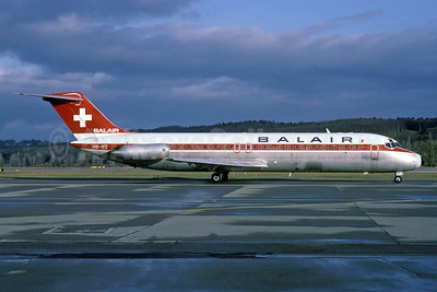 Balair (2nd) McDonnell Douglas DC-9-32 HB-IFZ (msn 47479) ZRH (Rolf Wallner). Image: 913209.