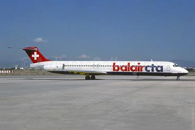 Balair-CTA McDonnell Douglas DC-9-83 (MD-83) HB-ISZ (msn 49930) PMI (Christian Volpati). Image: 953665.