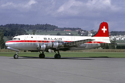 Balair (2nd) Douglas C-54E-5-DO (DC-4) HB-ILU (msn 27289) ZRH (Christian Volpati Collection). Image: 947769.
