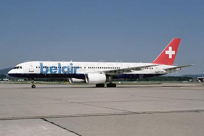 Belair Airlines Boeing 757-2G5 HB-IHS (msn 30394) ZRH (Ton Jochems). Image: 952802.