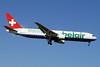 Belair Airlines (flybelair.com) Boeing 767-3Q8 ER HB-ISE (msn 27600) ZRH (Paul Denton). Image: 911970.