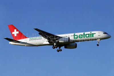Belair Airlines (flybelair.com) Boeing 757-2G5 HB-IHR (msn 29379) ZRH (Paul Denton). Image: 911969.