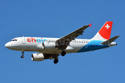 Chair Airlines Airbus A319-112 HB-JOH (msn 3589) BSL (Paul Bannwarth). Image: 946860.